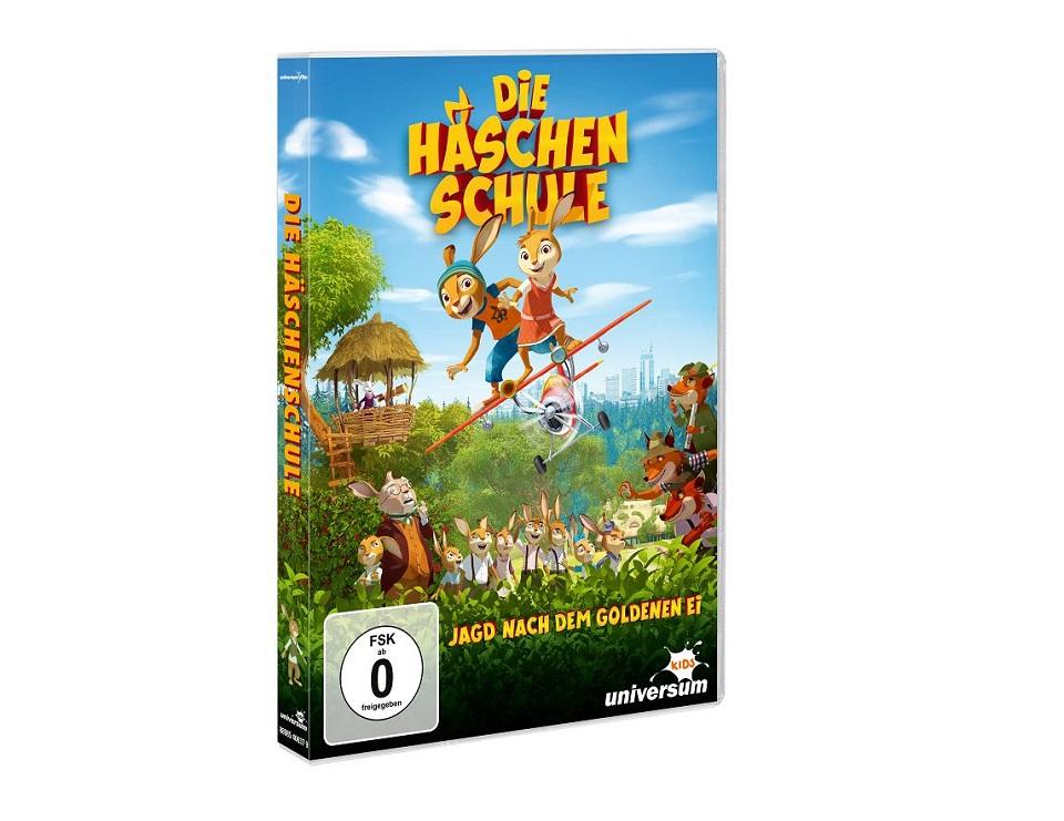 Gewinnspiel: DVD Die Häschenschule – Jagd nach dem goldenen Ei