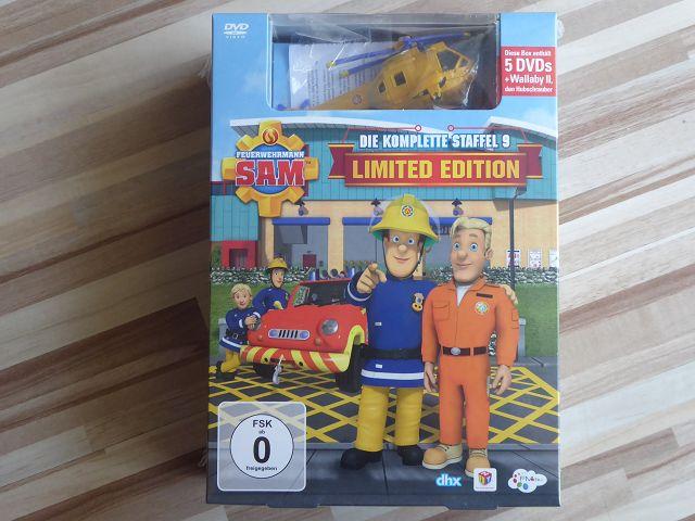 Gewinnspiel: DVD Sonderedition Feuerwehrmann Sam Staffel 9