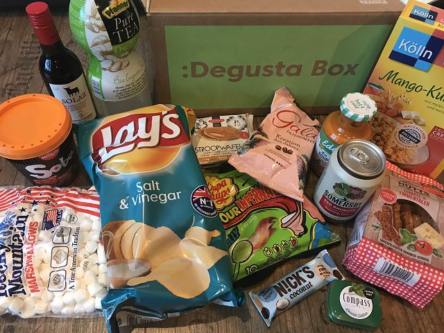 Produkttest: Degusta Box April 2019