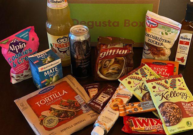 Produkttest: Degusta Box Dezember 2020