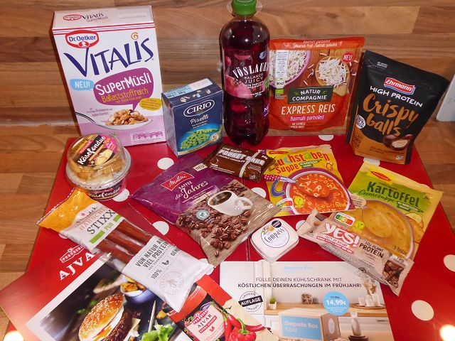 Produkttest: Degusta Box Januar 2021