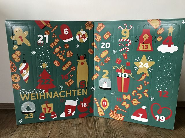 Produkttest: der Degusta Box Adventskalender 2019
