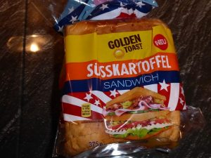 Golden Toast Süsskartoffel Sandwich