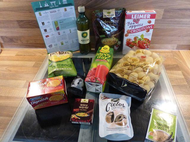 Produkttest: Degustabox April 2016