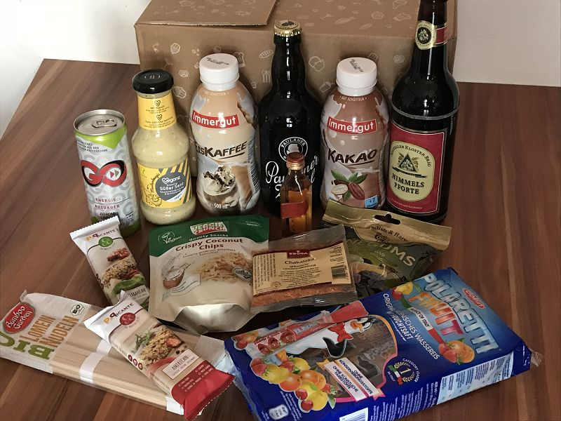 Produkttest: Degustabox Juni 2018