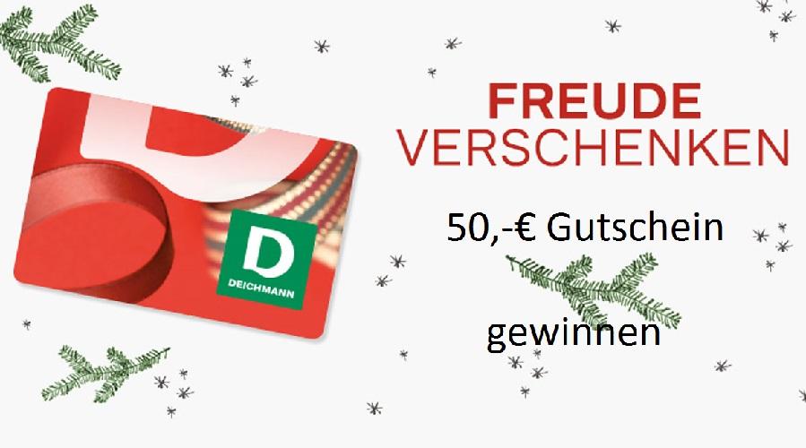 Adventskalender Tür 24: 50,-€ Gutschein für Deichmann