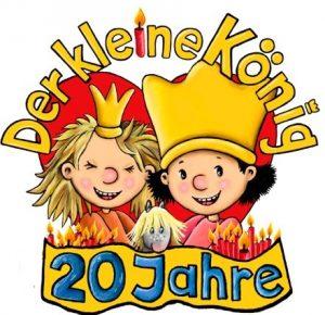 Der kleine König 20 Jahre 300x290 - Rezension - Der kleine König/ Buchstabensalat und Zahlensuppe