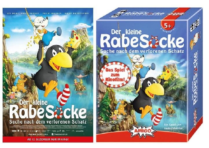 Adventskalender Tür 10: Der kleine Rabe Socke Fanpakete