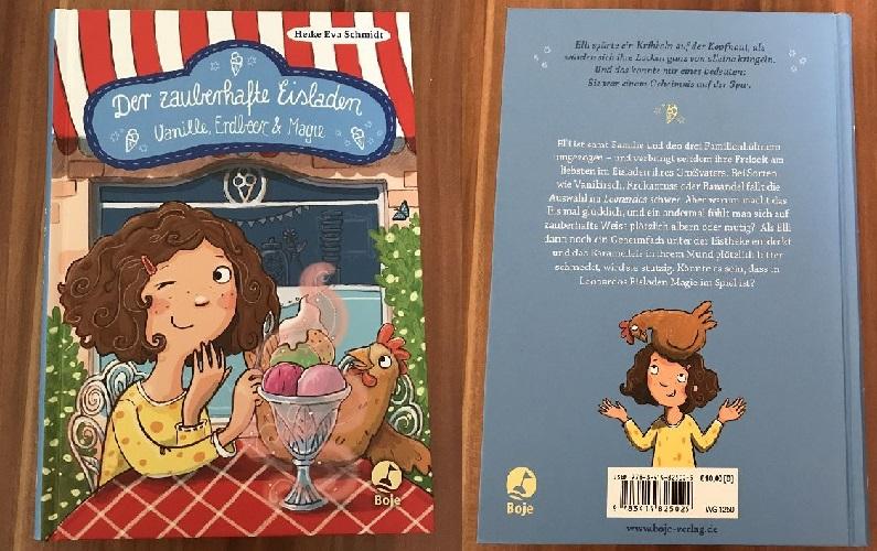 Rezension: Der zauberhafte Eisladen – Vanille, Erdbeer & Magie