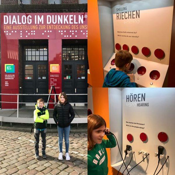 Dialog im Dunkeln in Hamburg