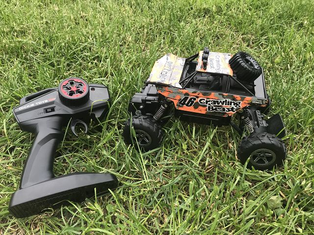 Produkttest: Dickie Toys RC Crawling Beast