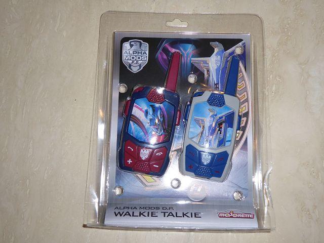 Produkttest: Dickie Toys Walkie Talkie