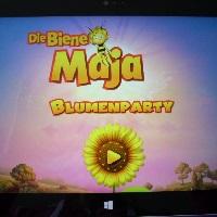 App-Test: Die Biene Maja Blumenparty