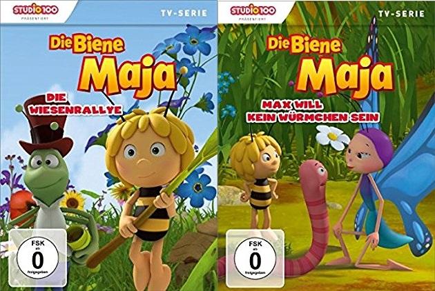 Die Biene Maja Die Wiesenrally Max will kein Würmchen sein - Gewinnspiel: Die Biene Maja