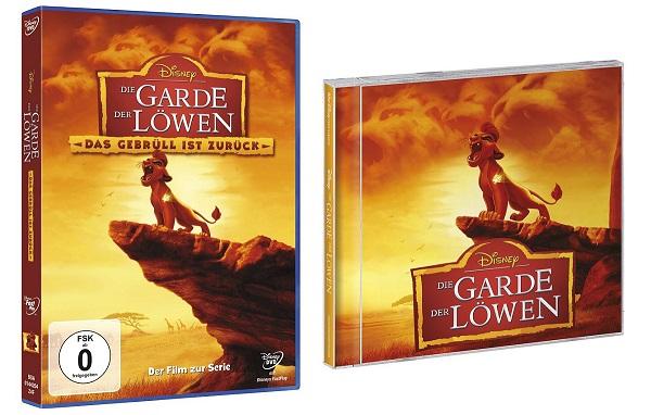 Die Garde der Löwen 6 - Gewinnspiel: Die Garde der Löwen CD und DVD Paket