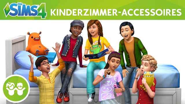 Die SIms 4 Kinderzimmer Accessoires 2 - Produkttest: Die Sims 4: Kinderzimmer Accessoires und Gaumenfreuden