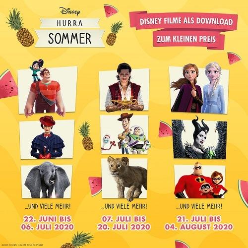 Disney Hurra Sommer 2020