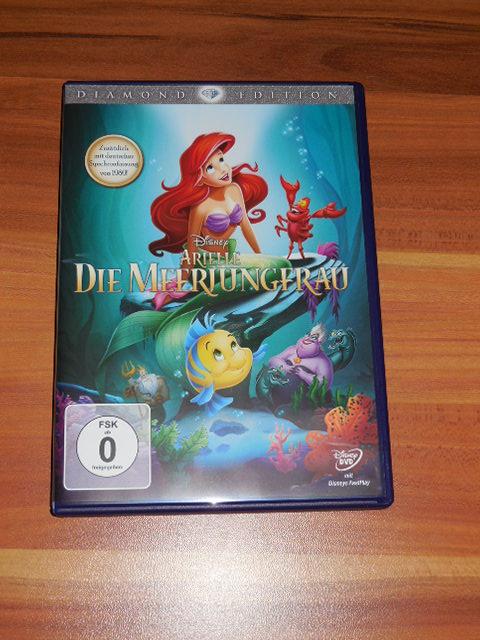 Disneys Arielle die Meerjungfrau – endlich mit Original Tonspur auf DVD