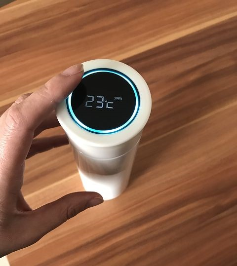 EQURA Smart Home THERMOS 1 - Produkttest: EQURA Smart Wasserflasche