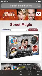 Ehrlich Brothers Street Magic im Test 2 169x300 - Ehrlich Brothers Street Magic von Clementoni im Test