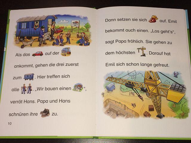 """Ein Tag auf der Baustelle 2 - Rezension: BilderMaus """"Ein Tag auf der Baustelle"""" vom Loewe Verlag"""