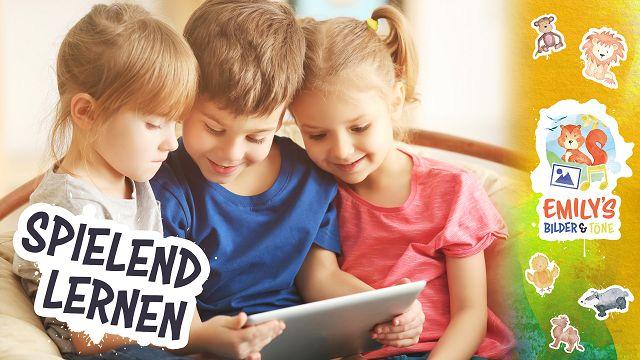 Lernspiel-App für Kleinkinder mit tollen Tierfotos