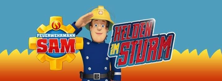 """FEUERWEHRMANN SAM HELDEN IM STURM 1 - Gewinnspiel: FEUERWEHRMANN SAM """"HELDEN IM STURM"""""""