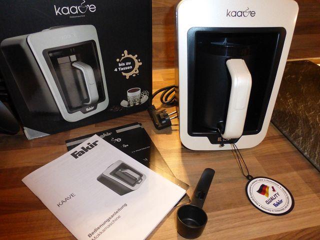 Fakir Kaave Mokkamaschine 3 - Produkttest: Fakir Kaave Mokkamaschine im Test