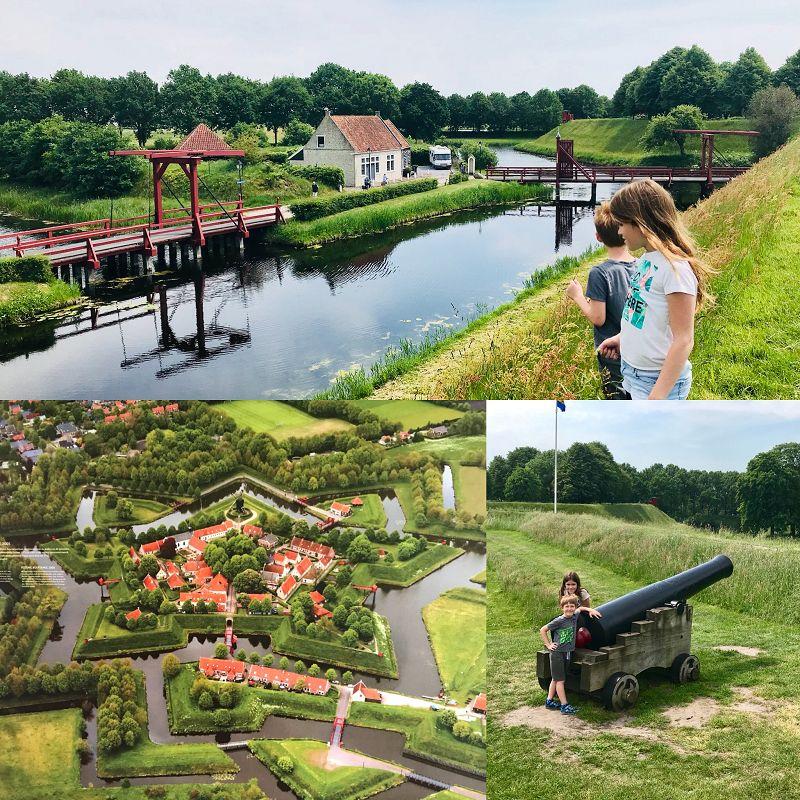 Familien Ausflugstipp: Festung Bourtange in Groningen