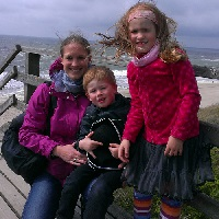 Familienbild dieTestfamilie - Gore Tex BIG DAYS 2014 auf Sylt