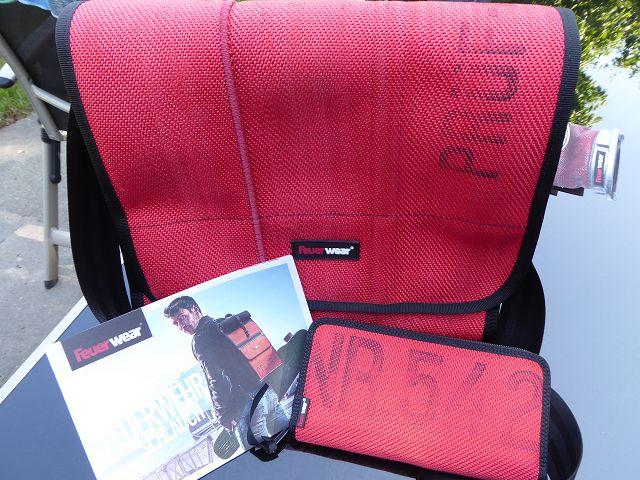 Produkttest: Feuerwear Umhängetasche Walter und Damenportemonnaie Alan
