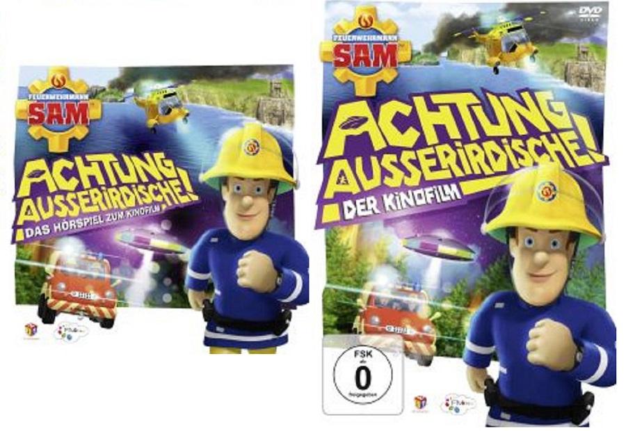 Feuerwehrmann Sam Achtung Ausserirdische TB - Gewinnspiel: Feuerwehrmann Sam - Achtung Ausserirdische!