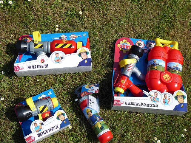 Produkttest: Feuerwehrmann Sam Outdoorprodukte von Simba Toys