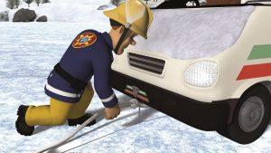 Feuerwehrmann Sam Schneespass 5 300x169 - Gewinnspiel: DVD Feuerwehrmann Sam - Schneespass