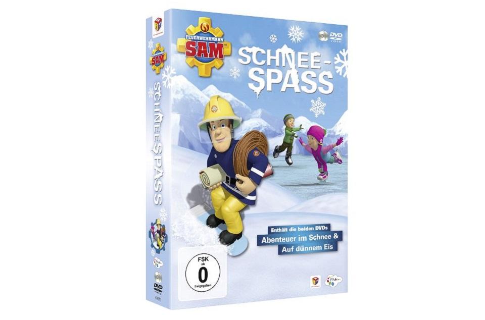 Feuerwehrmann Sam Schneespass TB - Gewinnspiel: DVD Feuerwehrmann Sam - Schneespass