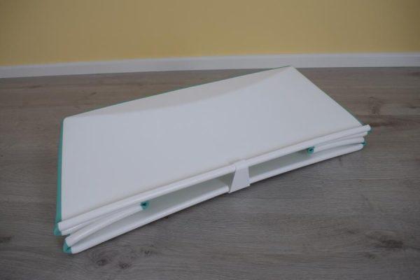 Flexi Bath zusammengeklappt 600x400 - Produkttest: Stokke Flexi Bath und Zubehör
