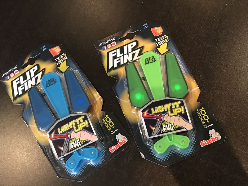 Flip Finz von Simba Toys 1 - Produkttest: Flip Finz von Simba Toys