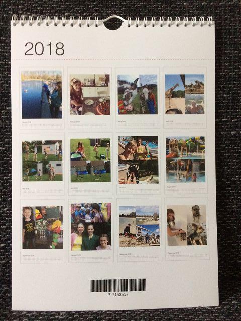 Fotokalender von SendMoments im Test 1 - Fotokalender von sendmoments im Test