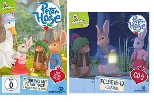 Frühling mit Peter Hase 4 - Gewinnspiel: Frühling mit Peter Hase DVD