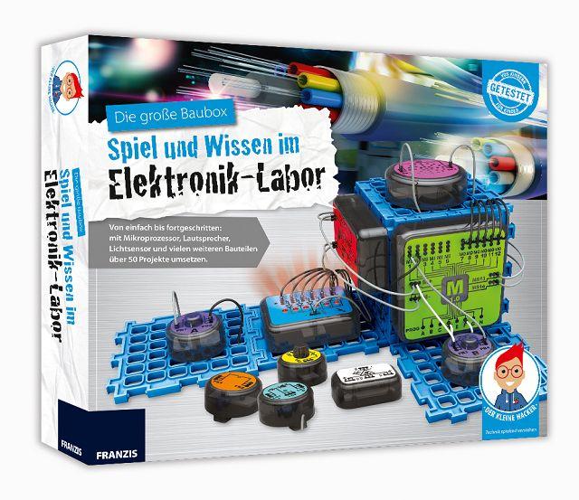 Franzis Elektronik Labor Gewinnspiel 2 - Adventskalender Tür 6: Franzis Elektronik-Labor