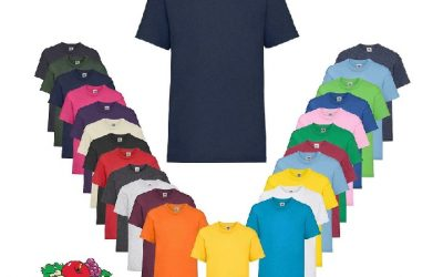 Fruit of the Loom T Shirts 400x250 - T-Shirts günstig bedrucken und besticken lassen