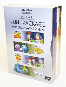 "Fun Package Alle Disney PIXAR Hits 229x300 - Gewinnspiel: DVD Boxen ""Fun-Package - Alle Disney PIXAR Hits"""