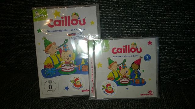 Gewinnspiel: 25 Jahre Caillou