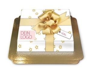 Geschenk Torte - Adventskalender, 13. Türchen: Weihnachtsgrußtorte