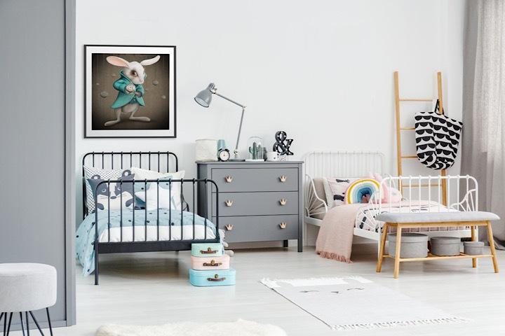 Geschwisterzimmer – so klappt es auf kleinem Raum