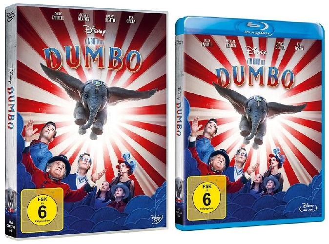 Gewinnspiel zum Heimkinostart von Dumbo