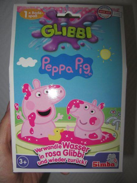 Glibbi Peppa Pig 450x600 - Produkttest - Toy Boxx 5/2019 der Simba Dickie Group