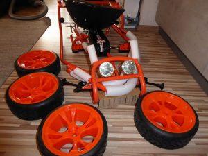 Go Kart Thunder II von Hauck 7 300x225 - Produkttest: Go-Kart Thunder II von Hauck Toys