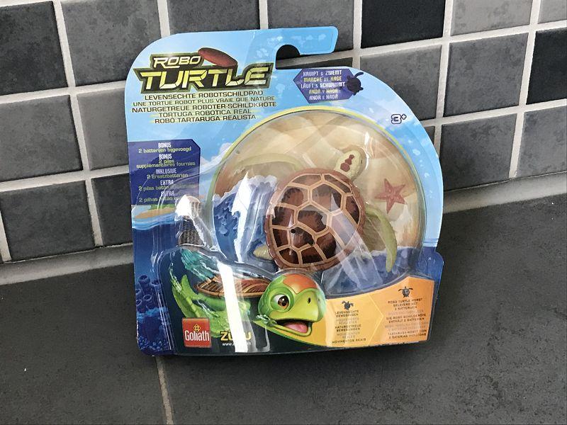 Produkttest: Goliath Robo Turtle Wasserschildkröte