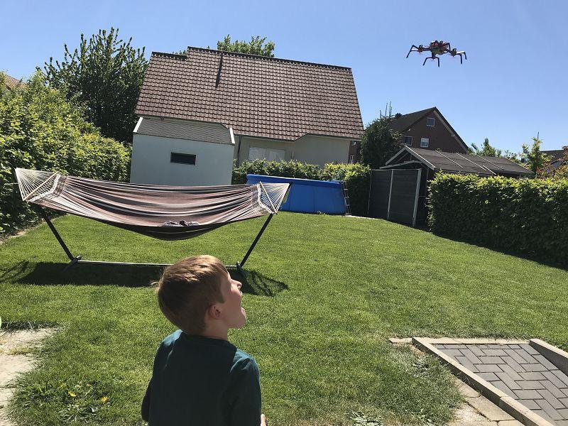 Produkttest: Goliath Sky Viper Spiderman Drohne